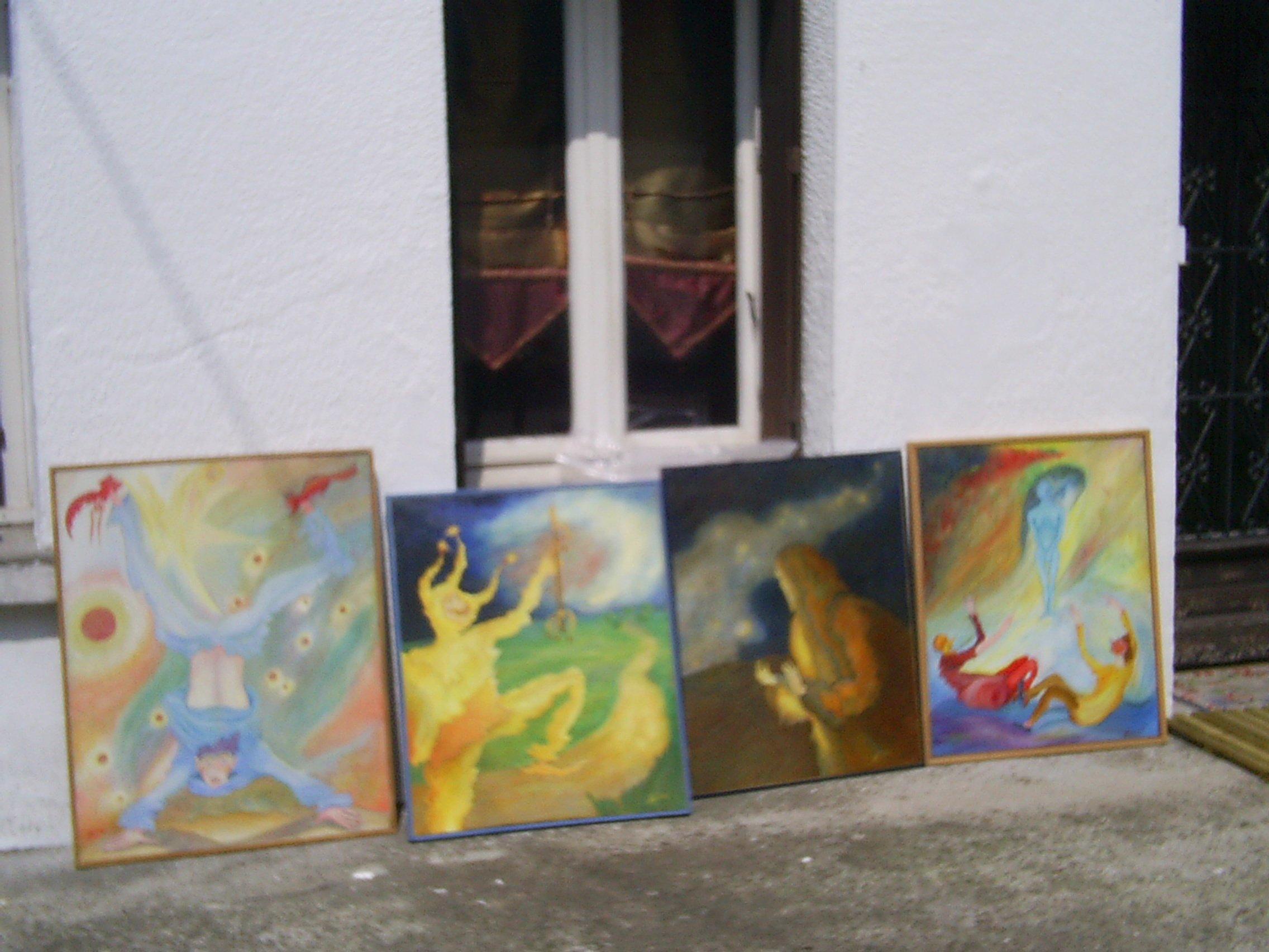 4 de mes peinture